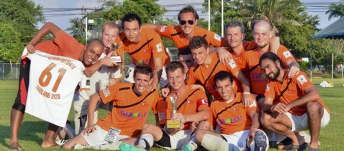 Champion of the 31th Far East Football Tournament in Bangkok